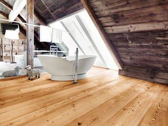 Bagno Legno Naturale : Parquet e pavimento in legno naturale in bagno mafi