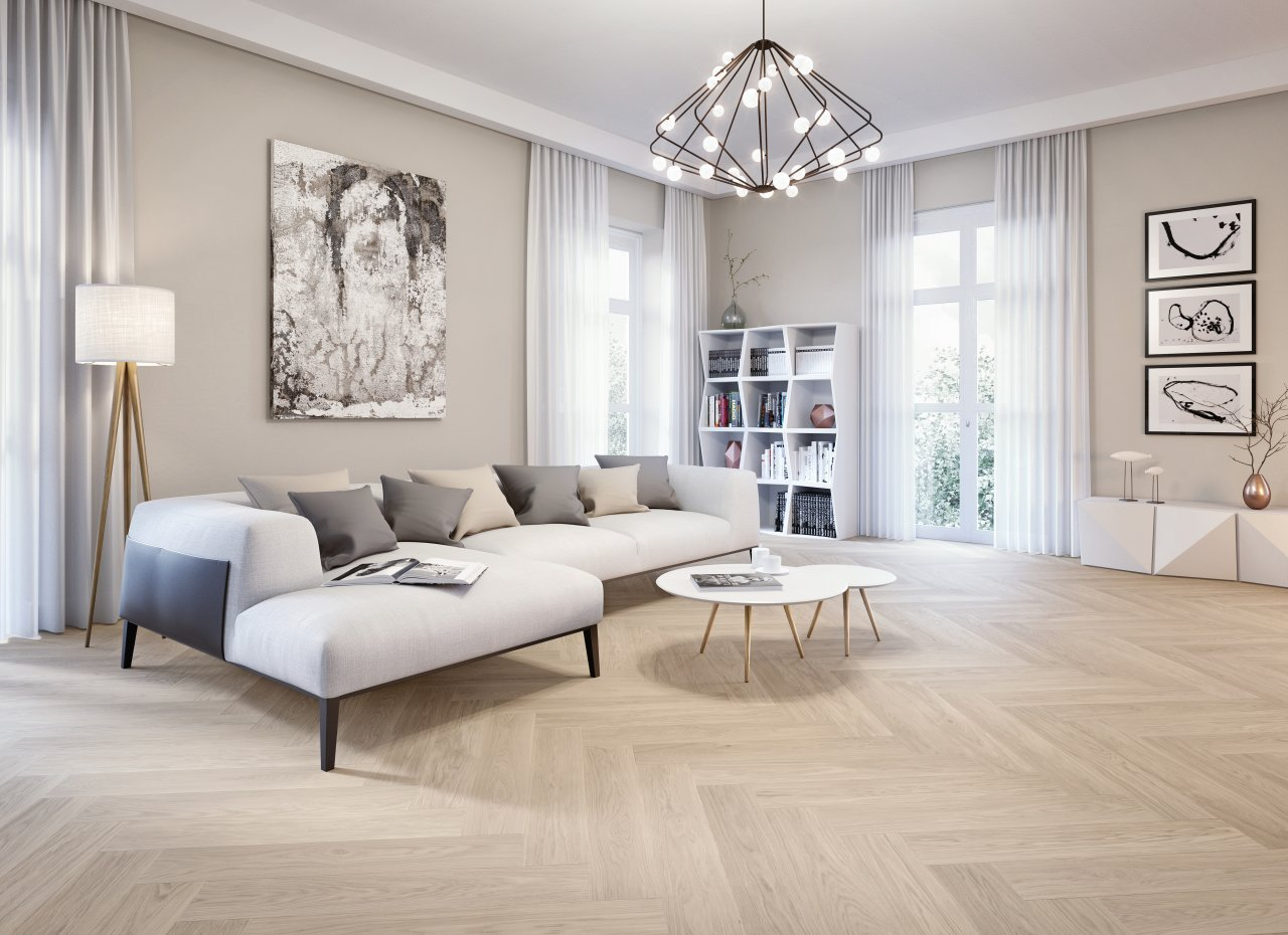 Herringbone Parquet And Chevron