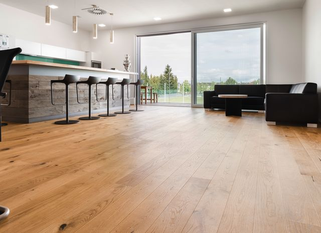 Kitchen - EICHE Country gebuerstet natur geoelt
