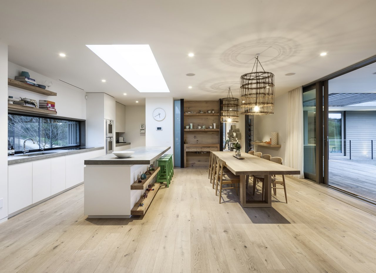 Parquet and natural wood floors in the kitchen   mafi
